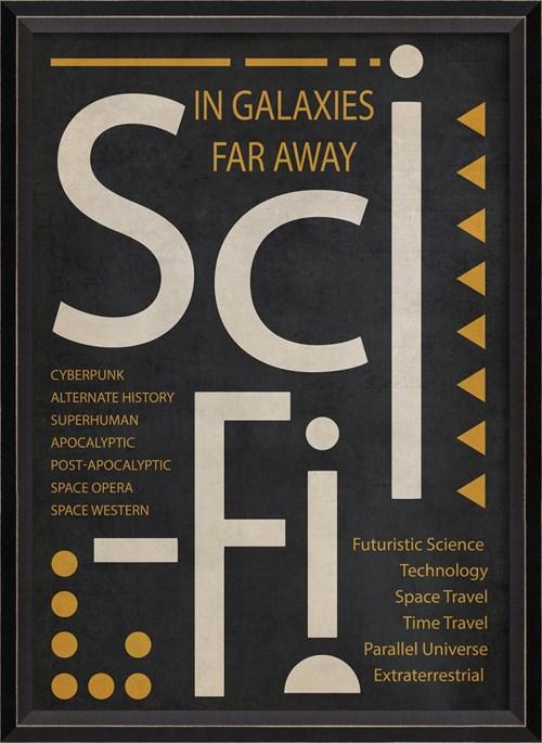 BC SciFi Poster White on Black sm