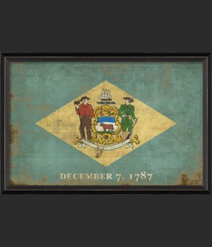 BC Delaware State Flag