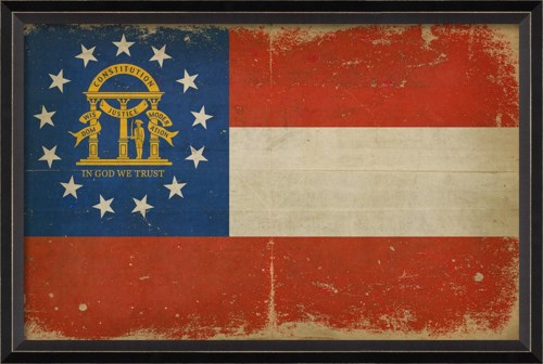 BC Georgia State Flag