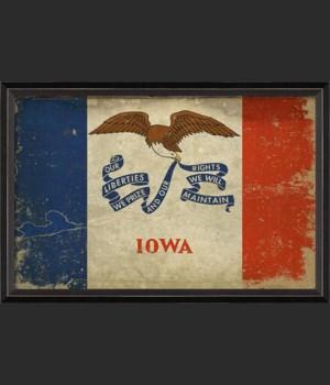 BC Iowa State Flag