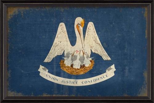 BC Louisiana State Flag