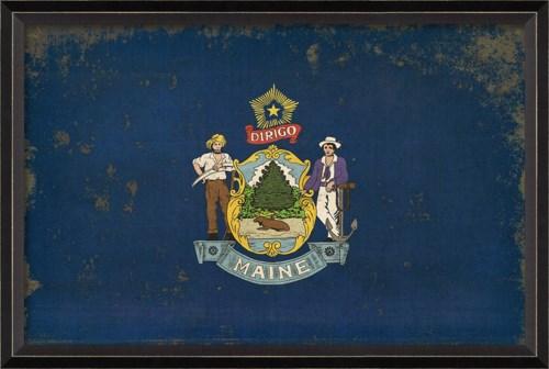 BC Maine State Flag