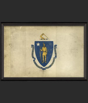 BC Massachusetts State Flag