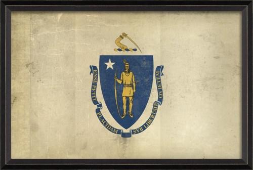 BC Massachusetts State Flag