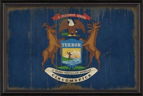 BC Michigan State Flag