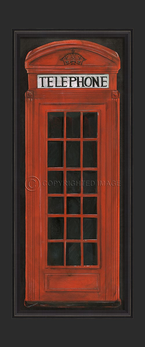 BCBL Telephone Booth Red
