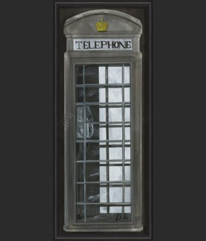 BCBL Telephone Booth Grey