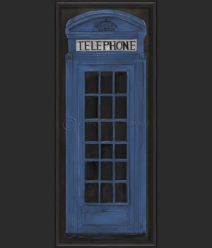 BCBL Telephone Booth Blue