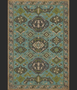 Williamsburg - Traditional - Stone Blue 70x102