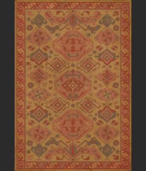Williamsburg - Traditional - Turmeric 70x102