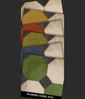 Swatch Set WILLIAMSBURG Octagons