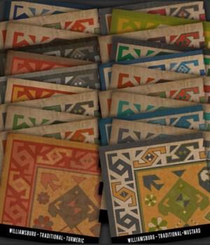 Swatch Set WILLIAMSBURG Traditional