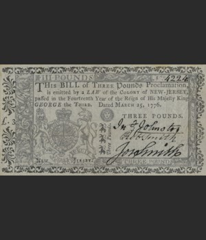 Williamsburg - Currency - A Dime a Dozen 38x70