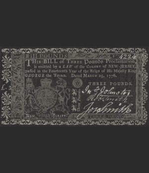 Williamsburg - Currency - Investment in Knowledge 20x37
