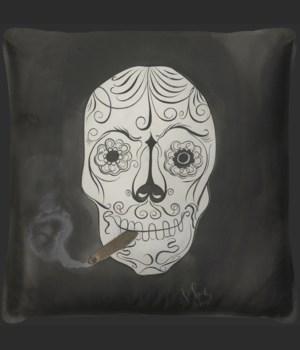 Skull 2 Pillow