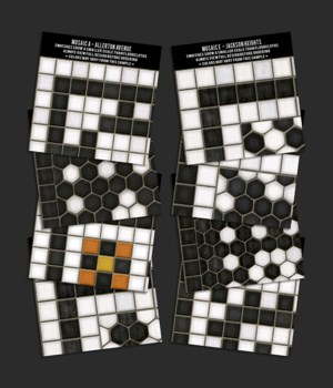 Swatch Set Mosaic all patterns HPS