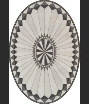 Pattern 84 Charleston 70x102 oval