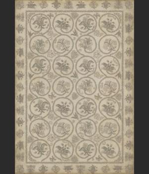 Williamsburg - Crewelwork - Hollyhock 70x102