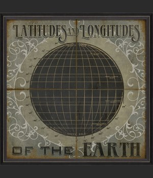 BC Latitudes and Longitudes of the Earth