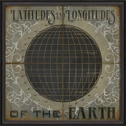 BC Latitudes and Longitudes of the Earth