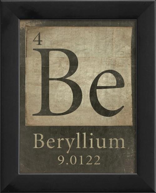 EB 4-Be-Beryllium