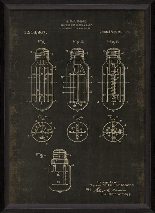 BC Moore Patent US 1316967 on Black Sm