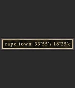 BC Cape Town Coordinates