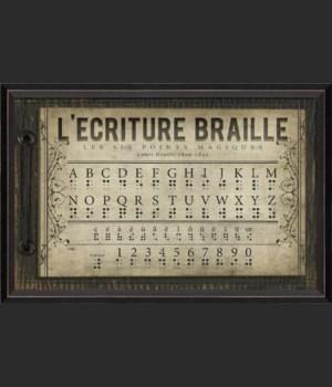 BC Braille Alphabet