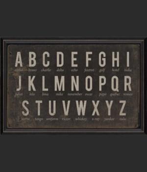 BC Alphabet Chart Black