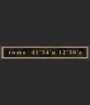 BC Rome Coordinates