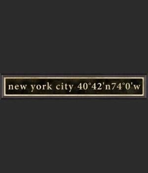 BC New York City Coordinates