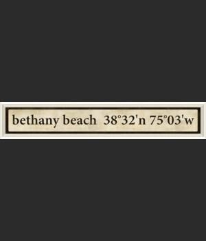 WC Bethany Beach Coordinates