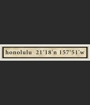 WC Honolulu Coordinates