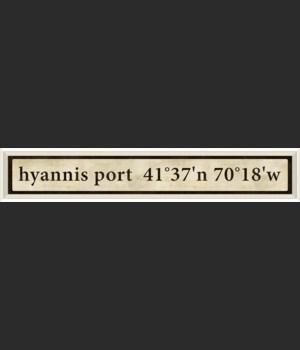 WC Hyannis Port Coordinates