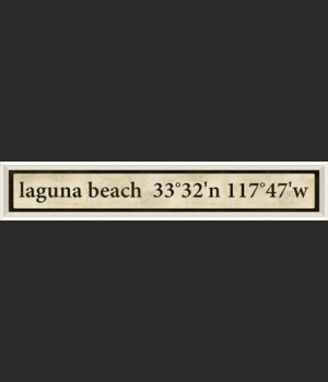 WC Laguna Beach Coordinates