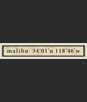 WC Malibu Coordinates