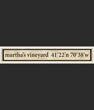 WC Martha's Vineyard Coordinates