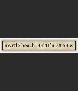 WC Myrtle Beach Coordinates