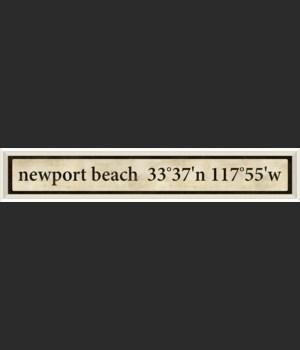 WC Newort Beach Coordinates