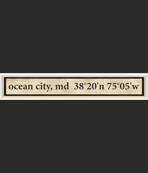 WC Ocean City Coordinates