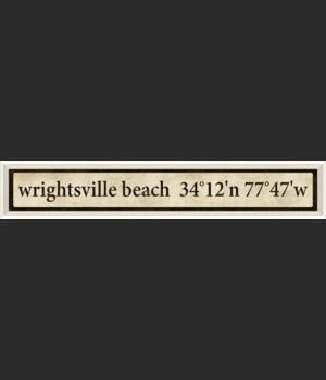 WC Wrightsville Beach Coordinates