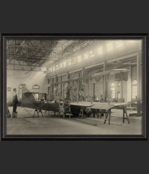 BC Airplane Factory 1918
