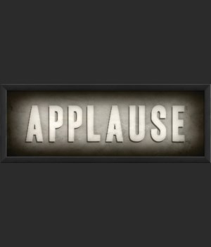 EB Theater Sign Applause