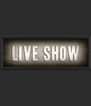 EB Theater Sign Live Show