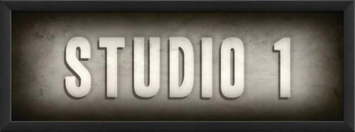 EB Theater Sign Studio 1