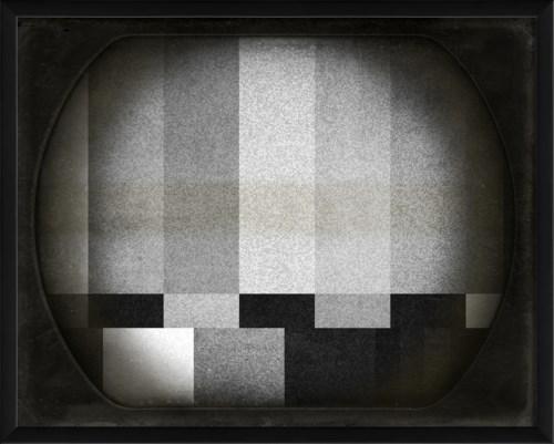 EB TV bars black and white