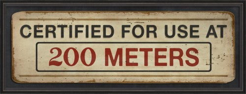 BC Certified for Use at 200 Meters