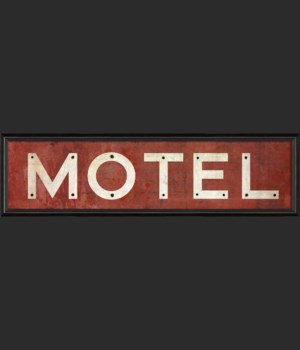 BC Motel Sign