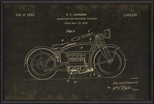BCBL Motorcycle Leonard 1556229 black xl