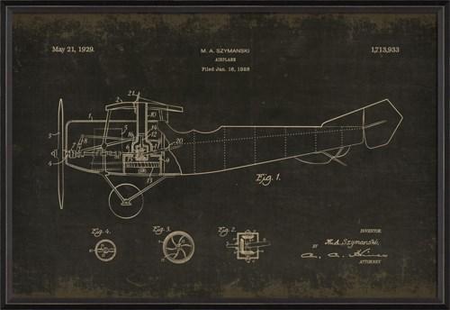 BC Szymanski Airplane on black med
